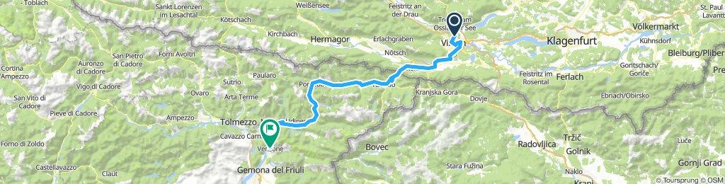 I. nap - Villach-Venzone (Alpok-Adria)