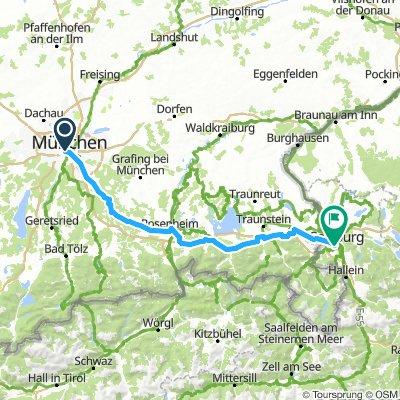 Munich 2 Salzburg