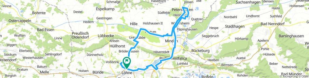 Minden-Peterdshagen (Runde von Löhne) 85km