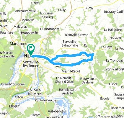 Rouen - Vascoeuil