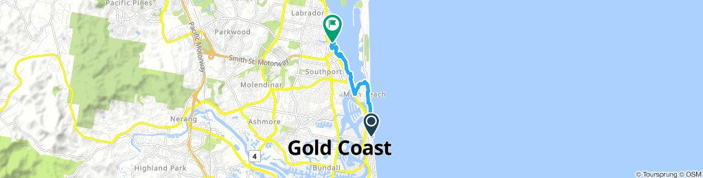 Lengthy Morning Route In Surfers Paradise