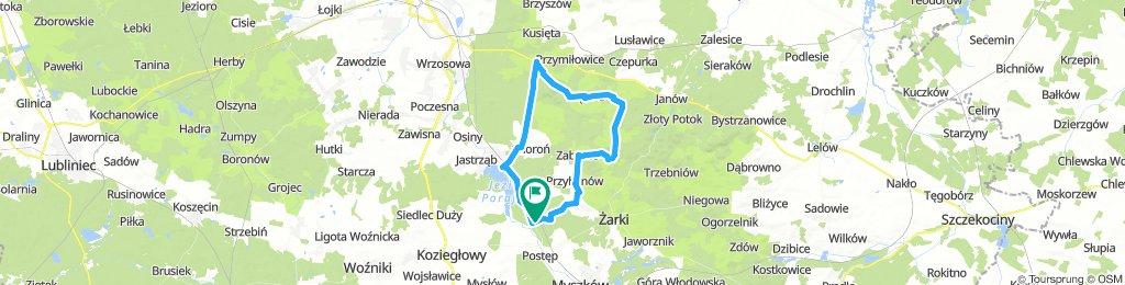 Żarki - Olsztyn - Suliszowice - Żarki