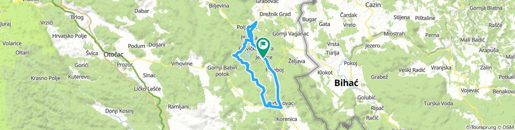 Kroatien_Plitvice_Korana_Rout2