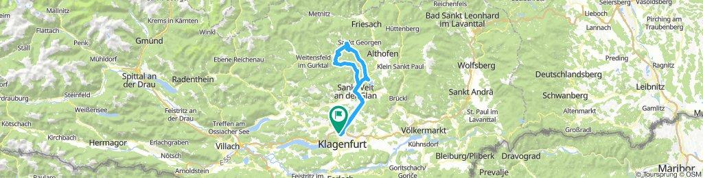 von Klagenfurt nach Gurk und Straßburg