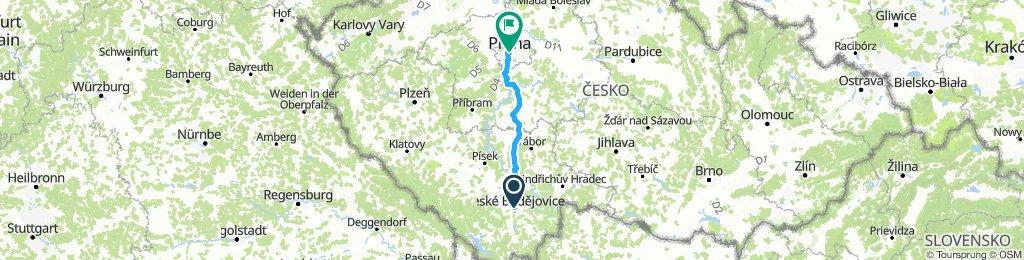 Ceske Budejovice - Praha