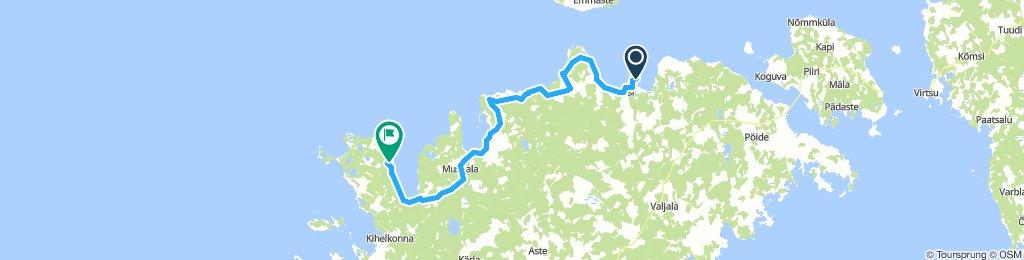 ESTONIE Ile de Saaremaa - 1