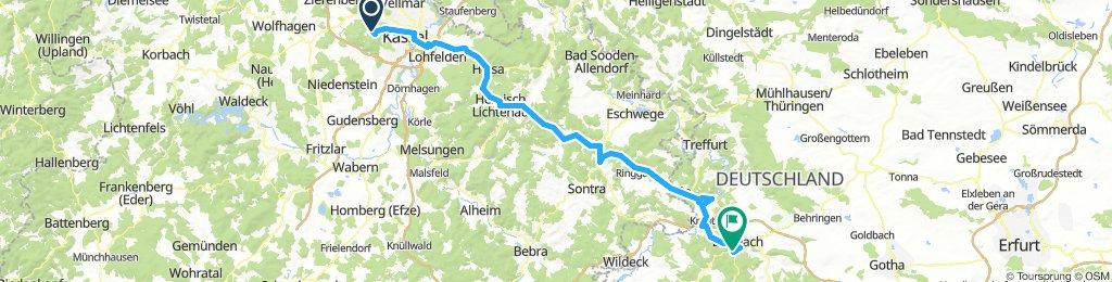Herkules-Wartburg-Radwanderweg