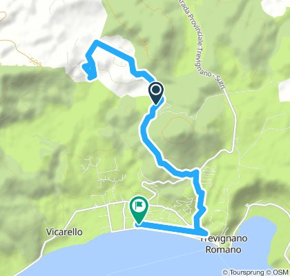Spred Out Morning Route In Sutri