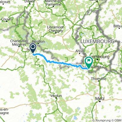 Etape 3 : Bazeilles-Esch-sur-Alzette