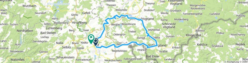 ADFC-Hof: Vogtlandtour