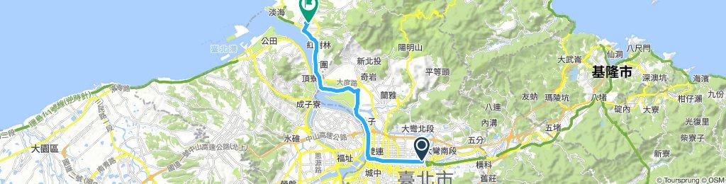 家-淡江(去程)(經西門町)