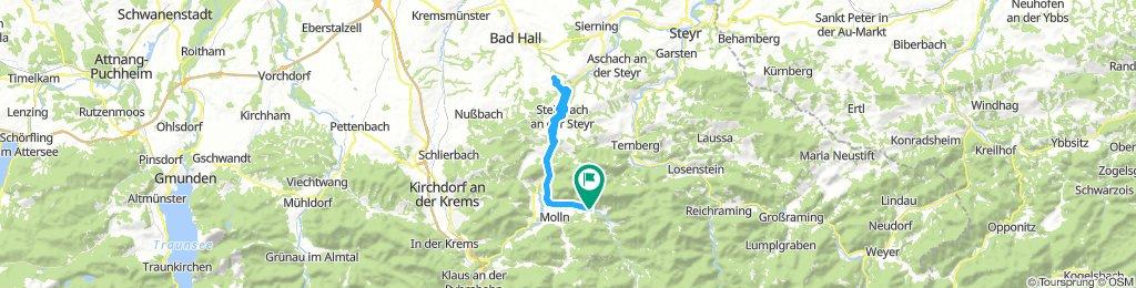 Molln Bteitenau - Waldneukirchen - Steinbach und retour