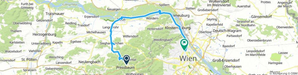 Wien - Pressbaum - Tulln - Wien tour part2