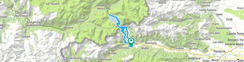Susa - Moncenisio /Mont Cenis - retur