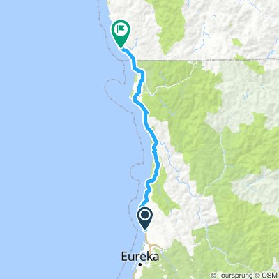 9 - Brookings to Clam Beach Campground