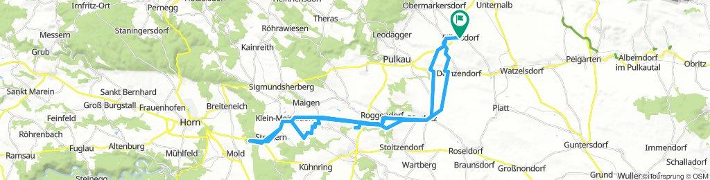 Pillersdorf - Röschitz - Maria Dreieichen - Pillersdorf