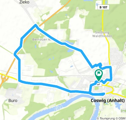 Snail-Like Montag Ride In Coswig (Anhalt)