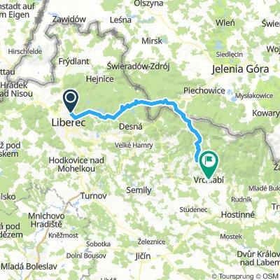 Liberec - Vrchlabí 1-7-2018