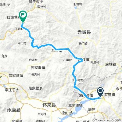 Beijing Yanqing to Zhangjiakou Chongli