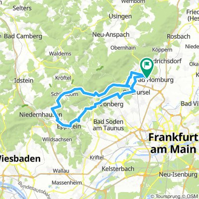 Tour durch den Taunus nach Eppstein