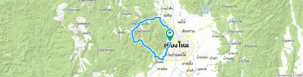 Loop around Doi Suthep from Chiang Mai