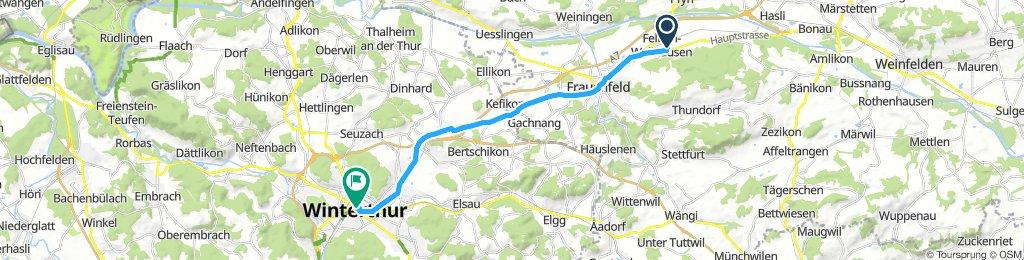 Extensive Morning Ride In Felben-Wellhausen
