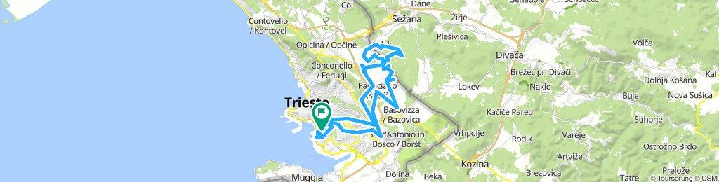 sentieri Carso Trieste
