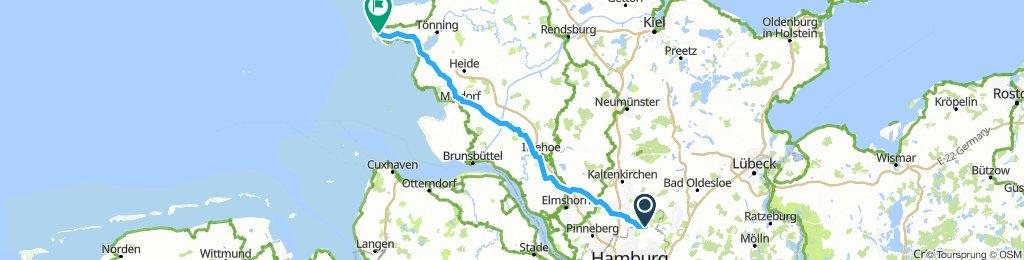 Nordsee - Hamburg Sankt Peter Ording