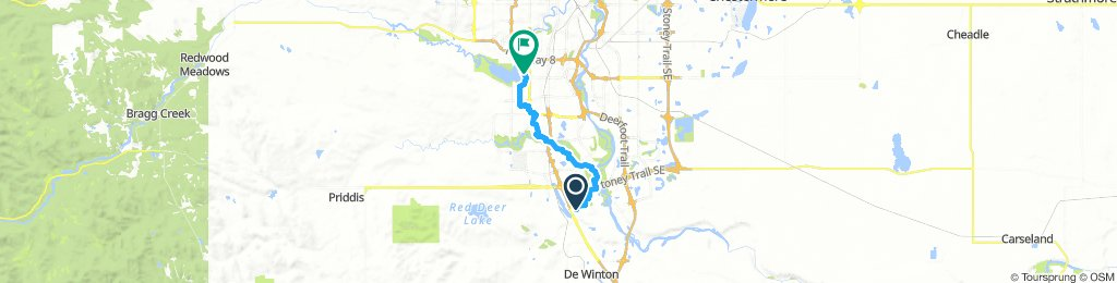 South Yyc to Heritage park