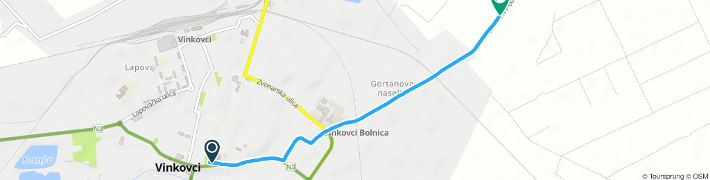 Short Afternoon Route In Vinkovci
