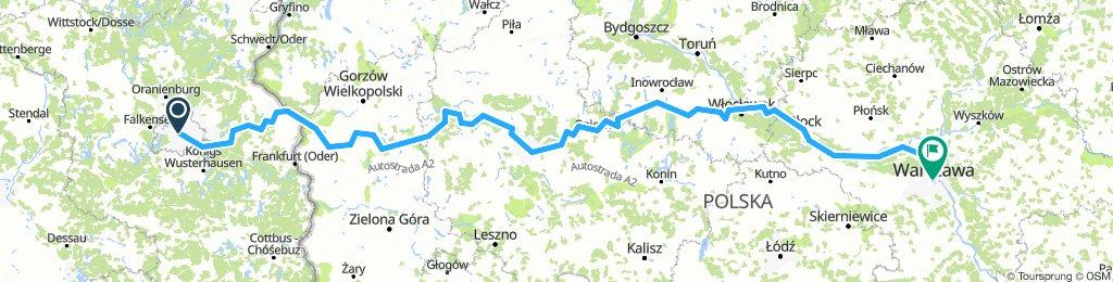 Berlin-Posen-Warschau