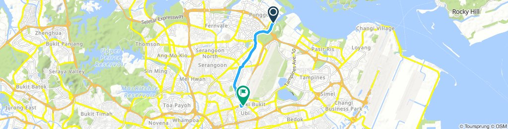 Easy Tuesday Ride In Punggol
