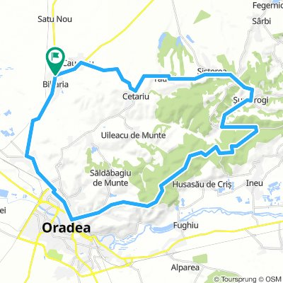 Biharia - Sustorogi - Oradea