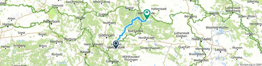 3. Heiligenstadt - Brocken - Elbingerode