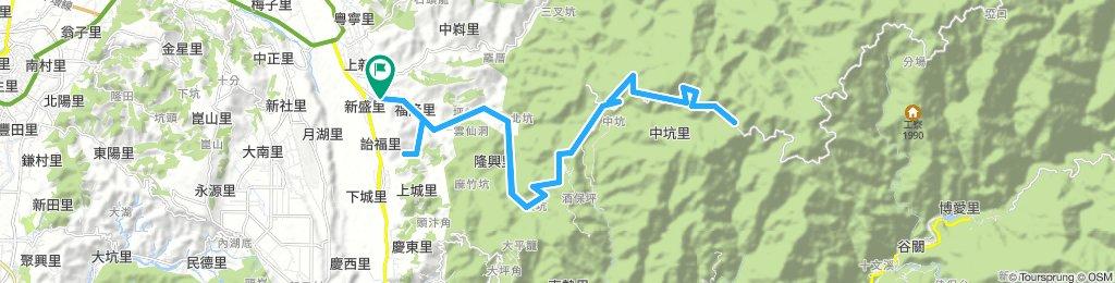 大雪山(橫嶺山隧道口折返)