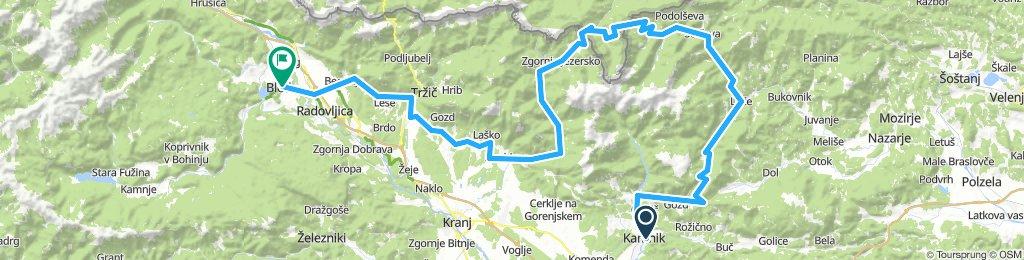 Čez Alpe na Bled