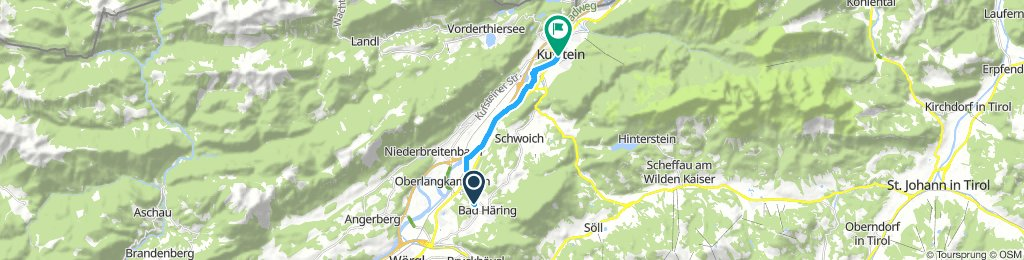 Extensive Mittwoch Route In Bad Häring