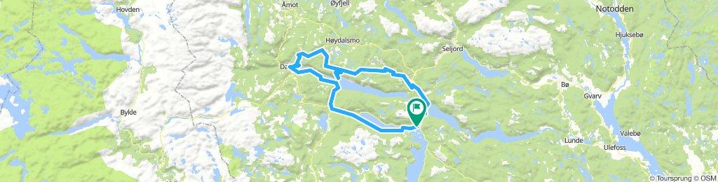 BP2_3 Vrådal - Lårdal - Bandaksli