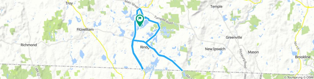 Easy Wednesday Route In Rindge