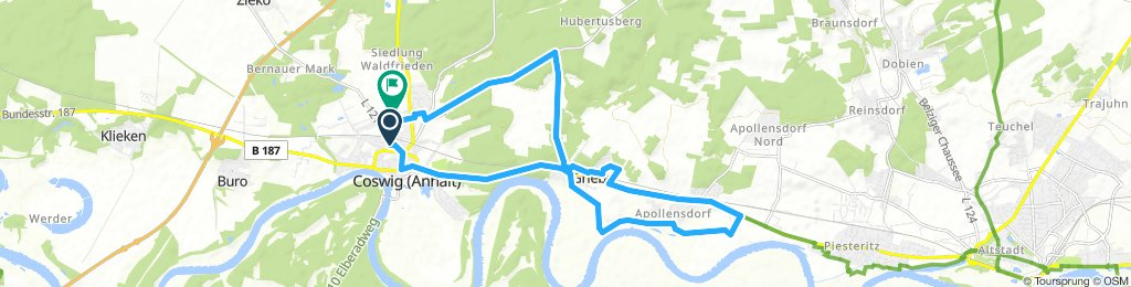 Lengthy Mittwoch Ride In Coswig (Anhalt)