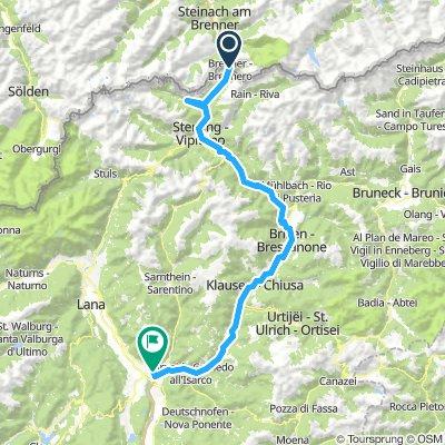 Ciclabile Isarco: Brennero - Bolzano
