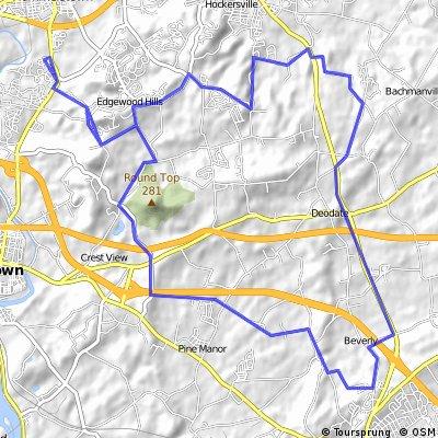 Hershey heights training ride