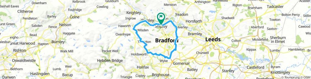 Loop around Bradford