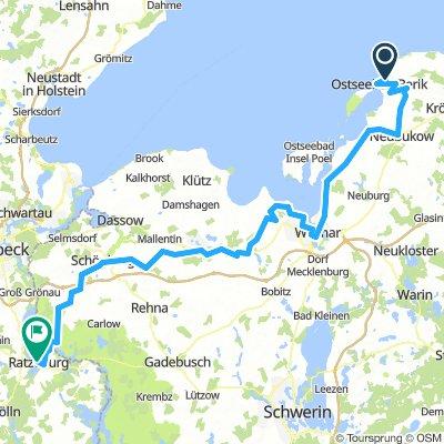 Von Rerik nach Ratzeburg