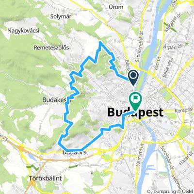 light MTB tour around the town