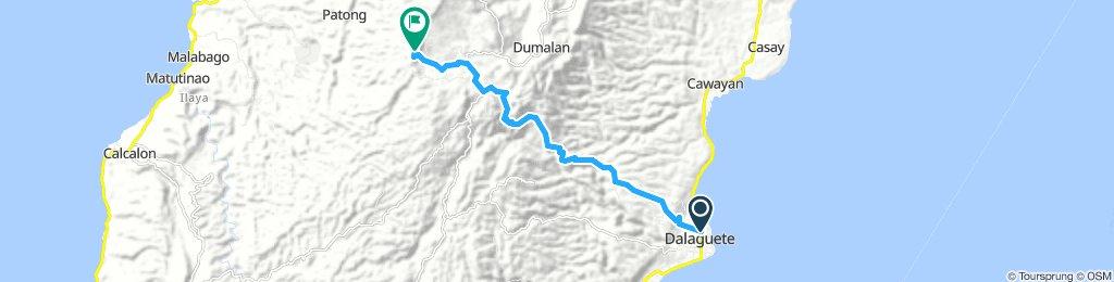 Dalaguete proper to O. Peak, Mantalongon