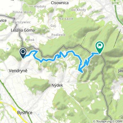 Uphill MTB Beskidy: Wędrynia - Wielka Czantoria
