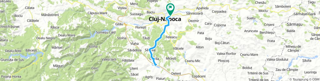 Easy cycling around Cluj-Napoca