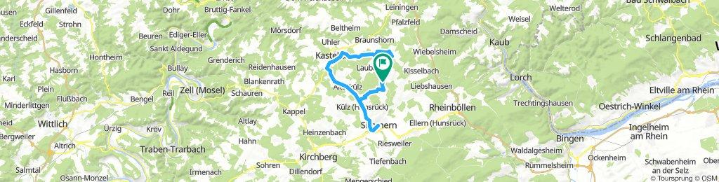 Klosterkumbd - Simmern - Kastellaun - Klosterkumbd