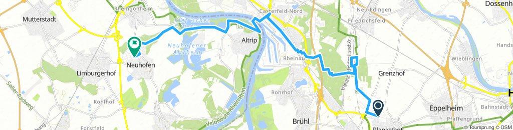 Plankstadt nach Neuhofen